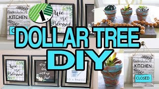 Dollar Tree DIY 🌟 Farmhouse Wall Decor 2019