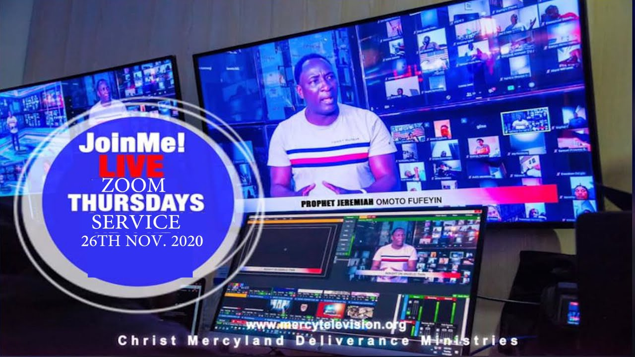 CMDM ZOOM SERVICE LIVE WITH SNR. PROPHET JEREMIAH OMOTO FUFEYIN 26/11/2020