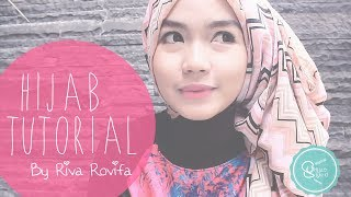 [BEST] Cara Memakai Jilbab Pashmina - HijabStyleID Tutorial - by Riva [2014]
