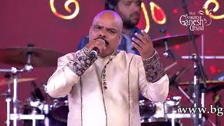 """Aadisi Nodu Beelisi Nodu"" sung by Mohan Krishna at 55th Bengaluru Ganesh Utsava"