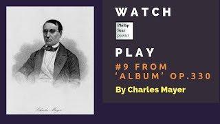 Charles Mayer: Album, Op  330: 9 - Lento con espressione (E major)
