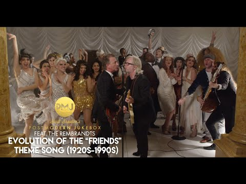 Evolution Of The 'Friends' Theme Song  1920s to 1990s  ft. The Rembrandts #FriendsReunion