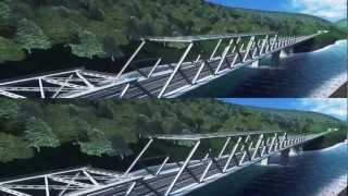 3D видео. Гипростроймост - ролик в формате 3D стерео(Анимационный презентационный ролик в формате 3D стерео для ОАО «Институт Гипростроймост». 3D ролик рассказ..., 2012-12-12T12:32:40.000Z)