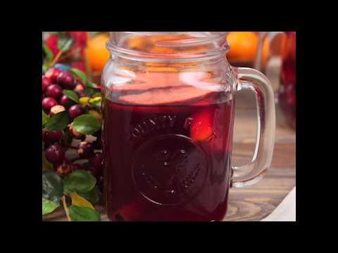 Легкий рецепт безалкогольного глинтвейна | Домашний глинтвейн