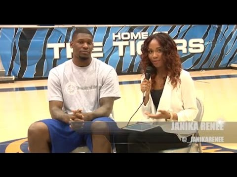 JanikaRenee.com   Former Tigers Interview with Adonis Thomas