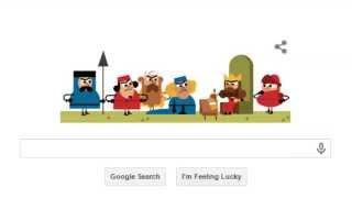 Animated Google Doodle - 800th Anniversary of the Magna Carta