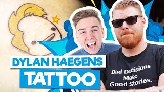 DYLAN HAEGENS TATTOO - Backstage Serie #6