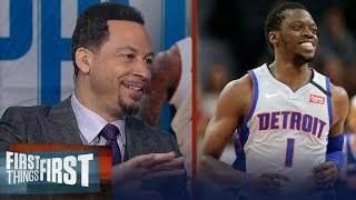 Reggie Jackson is plus for Clippers, talks small-ball Rockets — Broussard | NBA | FIRST THINGS FIRST