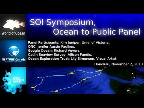 SOI Symposium, Ocean to Public Panel, Honolulu, November 2, 2013
