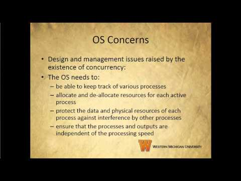 Operating Systems Chapter 5 Section 1 Youtube