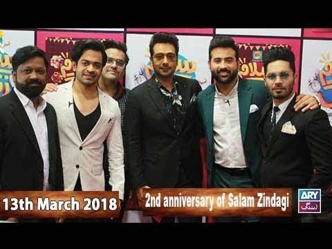 Salam Zindagi With Faysal Qureshi - 13th March 2018 - ARY Zindagi Drama