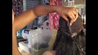 AMARIE HOW TO MAKE A FULL LACE OR GLUELESS SMALLER