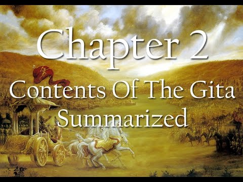 Bhagavad Gita Chapter 2 | Contents Of The Gita Summarized | Science of  Identity Foundation