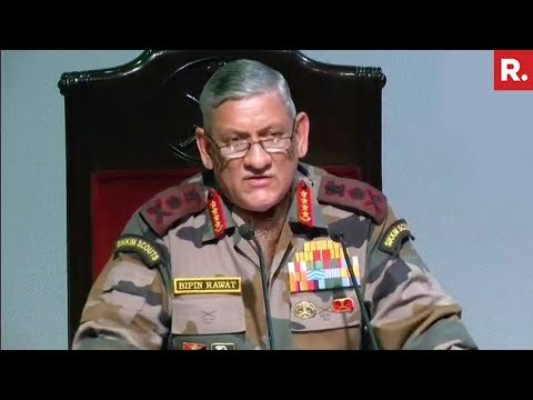Indian Army Prepared To Deal With China: General Bipin Rawat