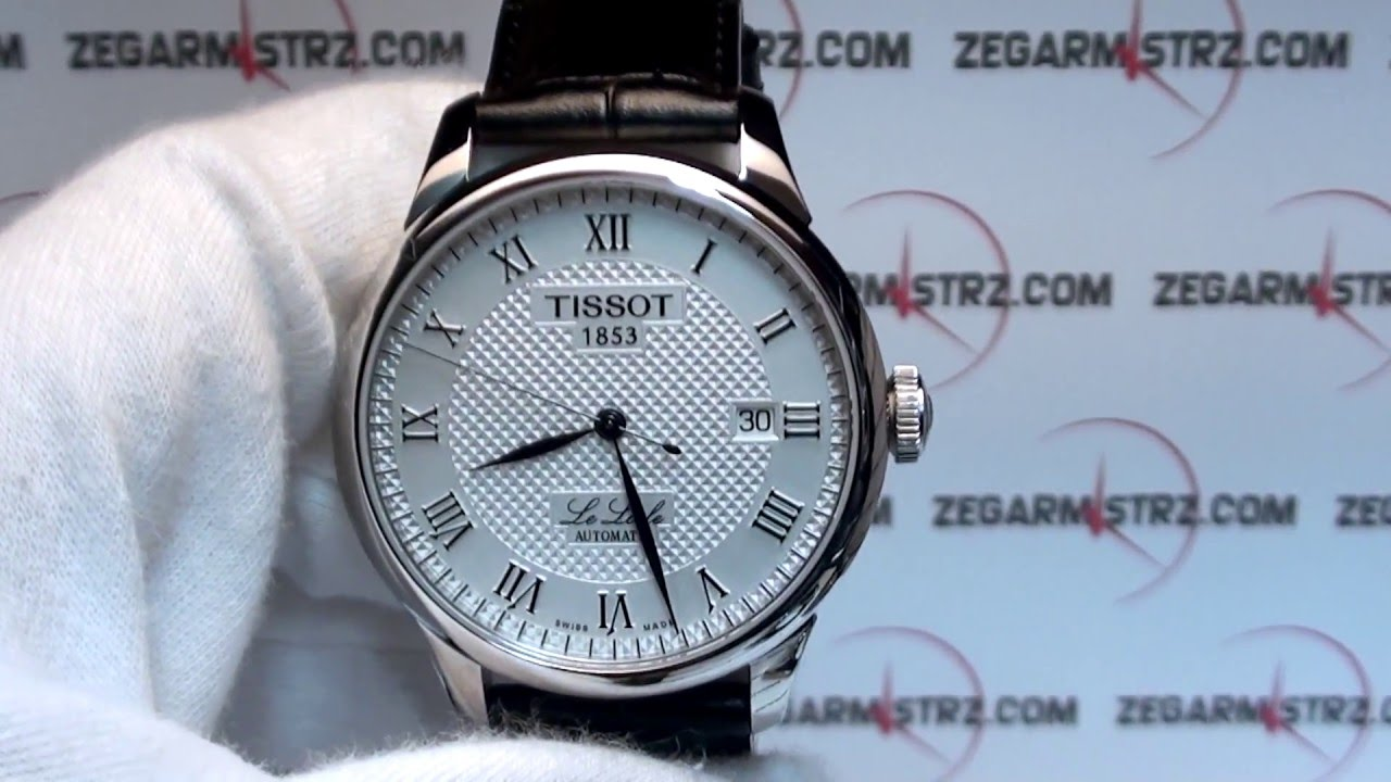 Tissot Le Locle Automatic Review Model T41142333 Ikw