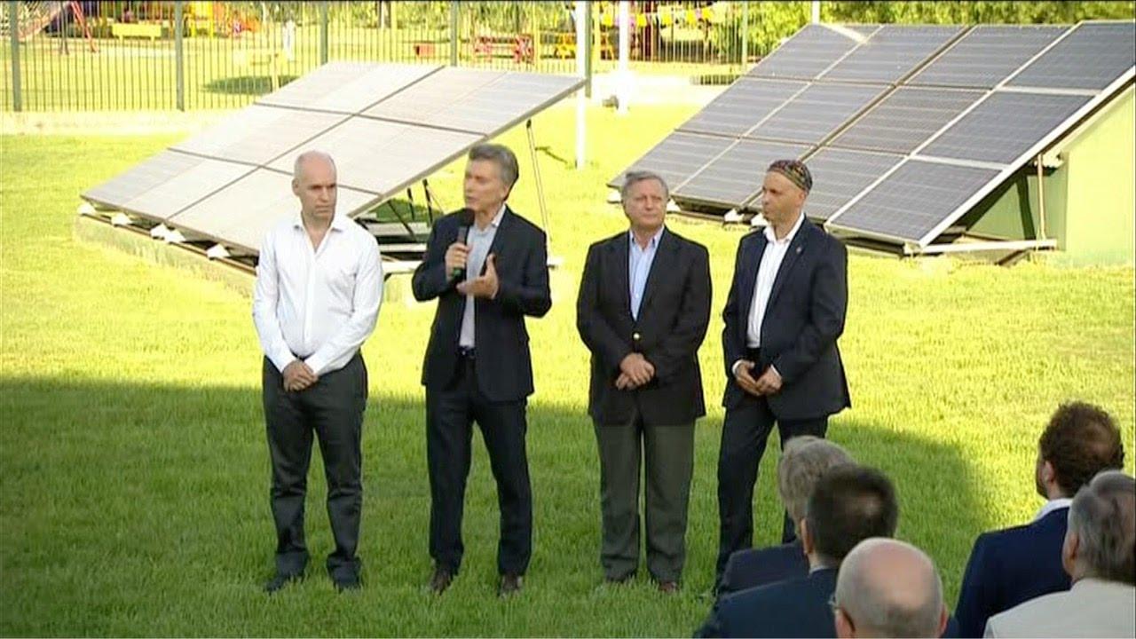 Resultado de imagen para energias renovables macri
