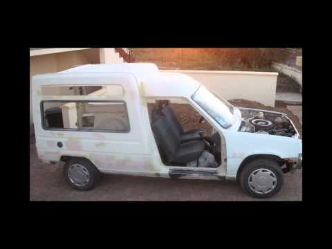 Restauration Renault express 1989