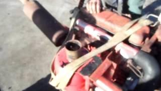 moteur perkins en action