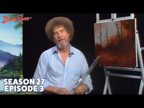 Bob Ross - Rustic Winter Woods (Season 27 Episode 3)