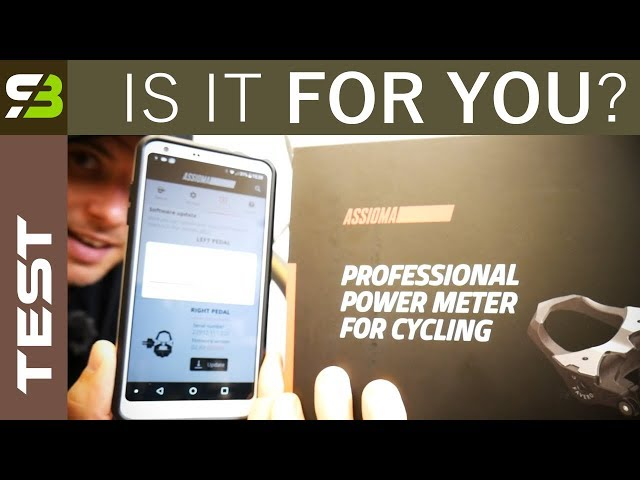 Favero Assioma Power Meter + New App. Are Powere Meters For Everyone.