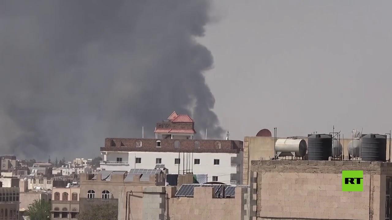 انفجارات عنيفة تهز العاصمة اليمنية صنعاء  - نشر قبل 5 ساعة