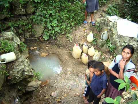 El problema del agua potable en el mundo geologos del for Construccion de piletas de agua