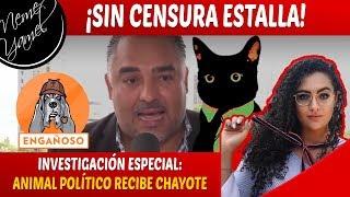 ¡SIN CENSURA ESTALLA! Lo que Animal Político y Claudio X González esconden