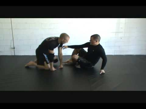 Butterfly Guard to Rubber Guard Transition