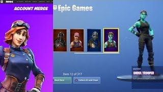Epic Games a finalement fusionné My OG Saison 1 compte- Fortnite Battle Royale (fortnite compte fusion