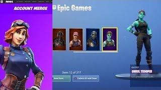 Epic Games finally Merged My OG Season 1 account- Fortnite Battle Royale (fortnite account merging