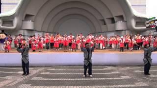 原宿表参道元氣祭 スーパーよさこい2013 2013年8月25日 じま...