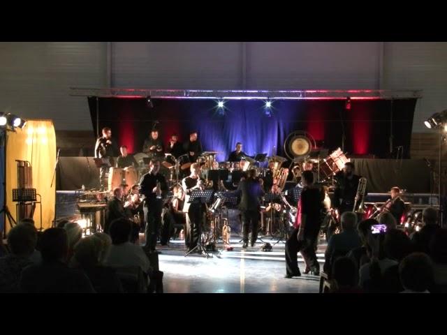 FOH31 2018 - Danseurs Angélique et Hermann - Salsa Tres Prado par le Brass Band Occitania (BBO)