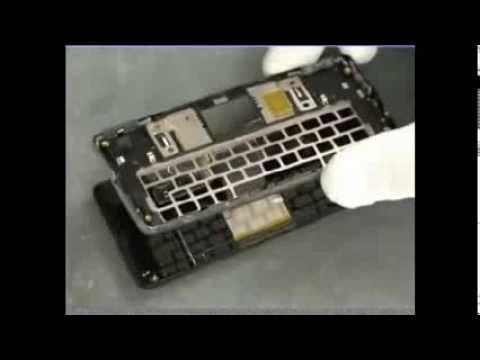 Sony Ericsson Xperia X1 disassemble