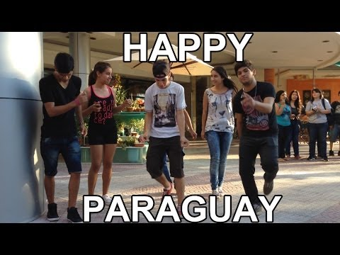 Happy - Pharrell Williams - Asuncion Paraguay