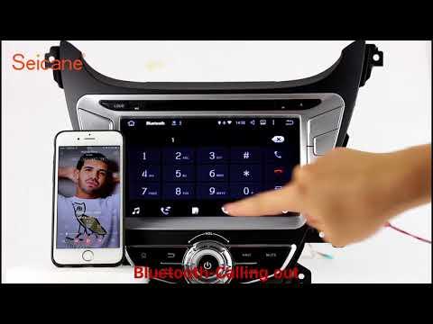 2014 Hyundai Elantra CD Radio GPS Navigation DVD Player Support 3G 4G WIFI