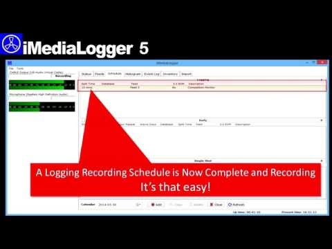 OMT - IMediaLogger5 Demo - Create An Audio Logging Event