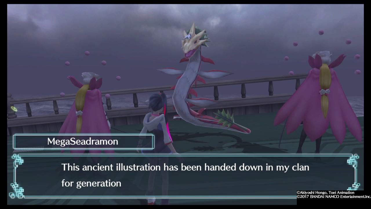 Digimon World: Next Order | Recruiting MegaSeadramon - YouTube
