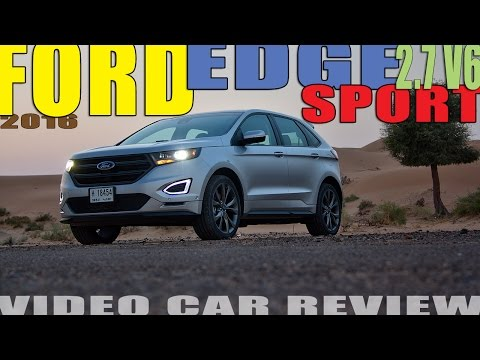 2016 Ford Edge Sport review - Family Rally Raider!