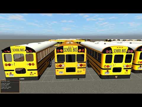 Quantum I.S.D. Bus Fleet Tour - Rigs Of Rods