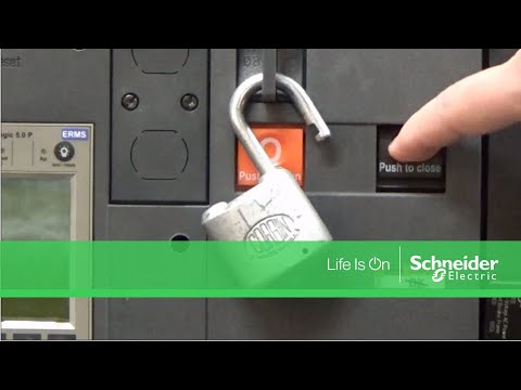 Locking Out Masterpact® NW Circuit Breakers | Schneider Electric Support