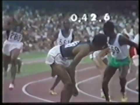 4x400m(U.S.A-WR),Mexico City,1968