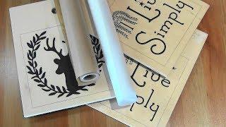 перевод рисунка на дерево без стирания бумаги. Серия 1 Основы & Mod Podge