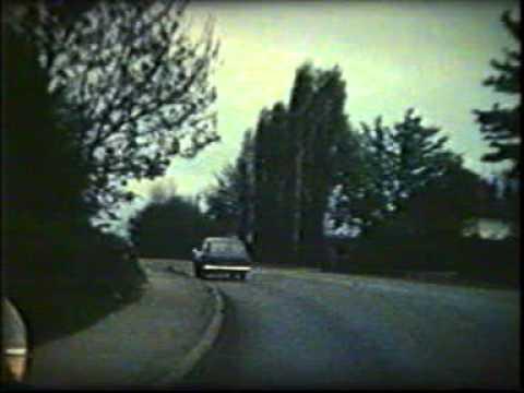 Vintage silent film | Driving in Rotherham |1960
