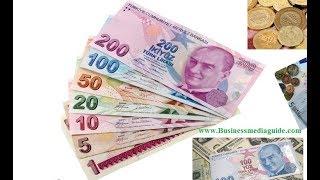 Exchange Rates Of The Turkish Lira...