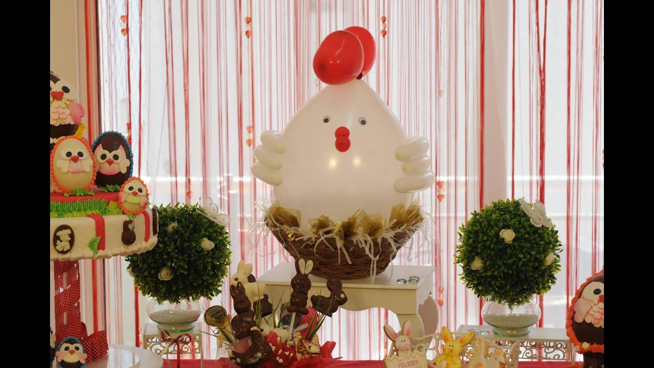 Decorar con globos gallina con souvenirs youtube - Decorar con globos ...