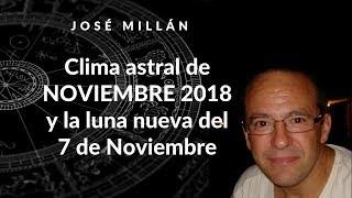 Clima astral de noviembre 2018 y luna nueva del 7 de noviembre.