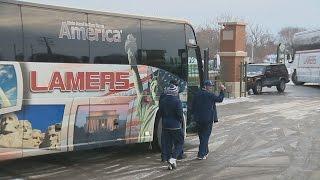 Cowboys take quick tour of Lambeau Field