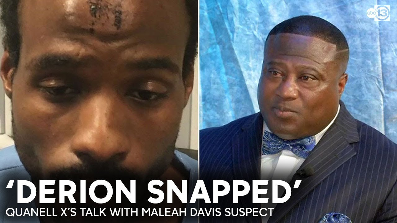 Quanell X Discusses  Jailhouse Talk With Derion Vence About What Happened To Maleah Davis