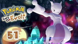 POKEMON LET'S GO EEVEE 🌏 #51: Mewtwo in the Cerulean Cave
