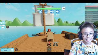 ROBLOX SHARK BITE: THE GIANT SHARK IS SO SCARY BUT WE WON. LET'S PLAY MIT BEN TOYS UND GAMES
